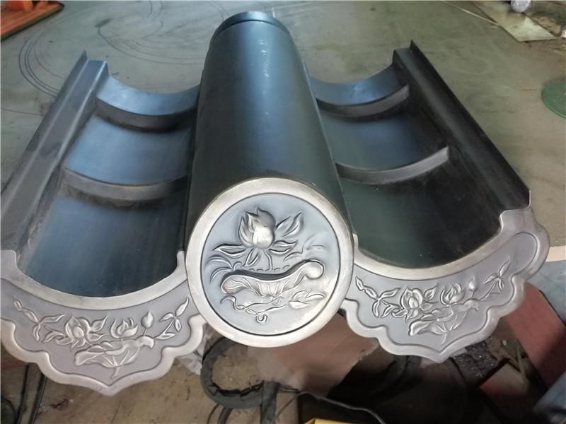 铜瓦片-铜建筑装饰定制