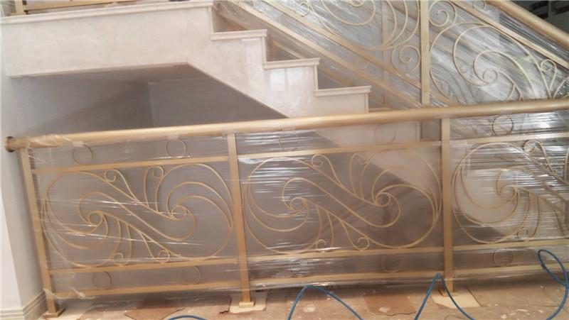 杭州铜扶手-铜栏杆厂家