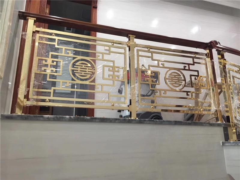 铜楼梯扶手栏杆定制